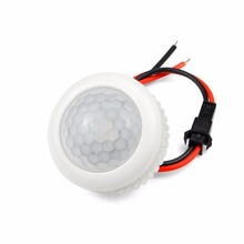 PIR Motion Sensor Switch Auto ON/OFF 220V 50HZ IR Infrared Human body Induction Sensor light Control Detector Module lamp