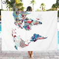 Sunfree 2017 HOT SALE Fashion Beach Pool Home Shower Towel Blanket Table Cloth Brand New High Quality Jan 16