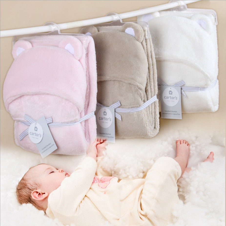 Fashion good quality fashion Baby kids blanket Cloak Soft Bedding Baby Nap blanket quilt Air conditioning blanket solid