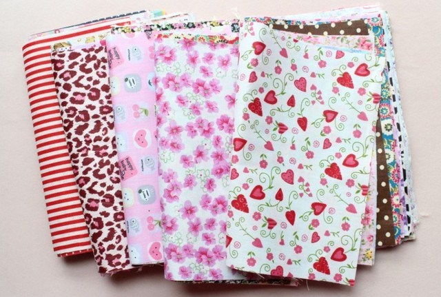 60 шт.-комплект из хлопчатобумажной ткани, смешанные узоры, каждый в 20x25 см, оптовая продажа, Бесплатная доставка