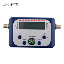 Portable TV Signal Satellites Receiver Digital LCD Display Satellite TV Signal Finder Satfinder Signals Strength Tester