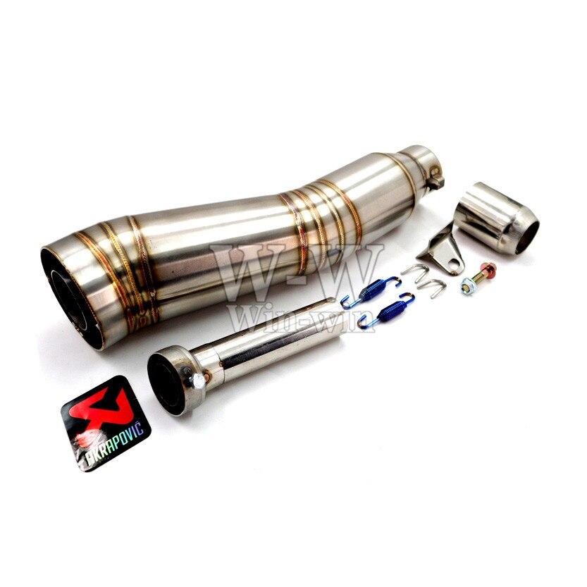 OD 36-51mm universal motorcycle accessories exhaust pipe For yamaha kawasaki suzuki ktm honda bwm benelli ect 2017 universal 7in1 for yamaha sym kymco for suzuki htf pgo for honda motorcycle diagnostic tool update via email