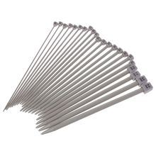 22Pcs 7.9in Crochet Single Pointed Knitting Needles Set Stainless Steel Powder Coating Sweater   Tools In 11 Sizes whole set of electrostatic powder coating machine with electrostatic powder coating gun