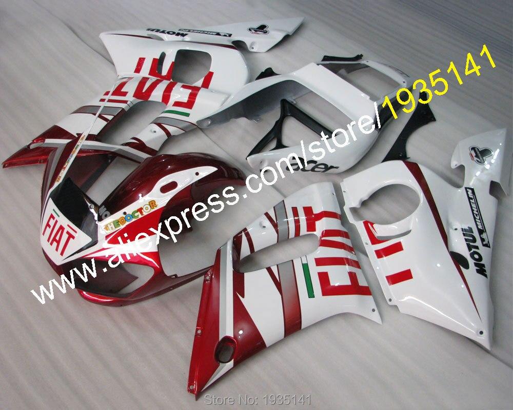 Offres spéciales, YZFR6 carénage Pour Yamaha carénages kit YZF R6 98 99 00 01 02 YZF-R6 body46 1998 1999 2000 2001 2002 (moulage par Injection)
