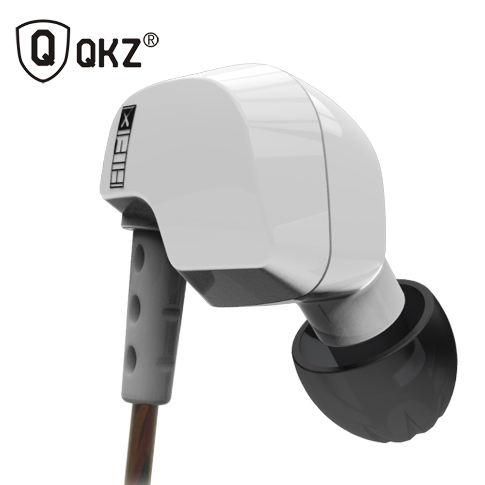 Earphone Original Brand QKZ DM200 Super Bass In-Ear auriculares with Mic 3.5mm Hifi Gold Plated Go Pro Music fone de ouvido original brand headphone langsdom jv23 jm23 earphone headsets super bass with mic for mobile phone auriculares pc