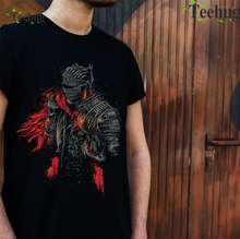 Dark Souls Red Knight T Shirt Cool Man Graphic Print Quality Cotton Tees