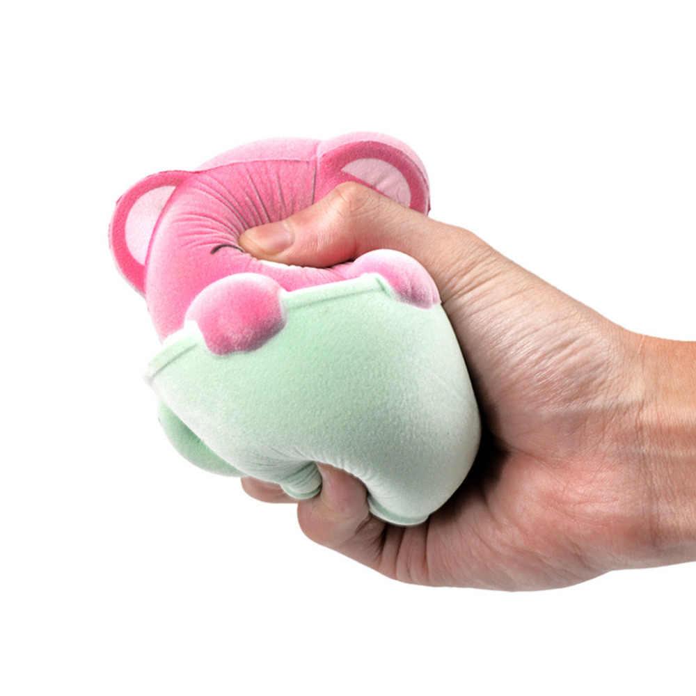 Chat à fourrure parfumé lente augmentation Squishies jouet squis soulagement du Stress jouet pour enfants Squishy soulagement du Stress jouet drôle enfants jouet Feb21