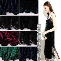 Patchwork Tecidos Tissus South Korea Plush Velvet All Play Flannelette Stretch Diy Craft Pleuche Is Less Than The Fabric Cloth
