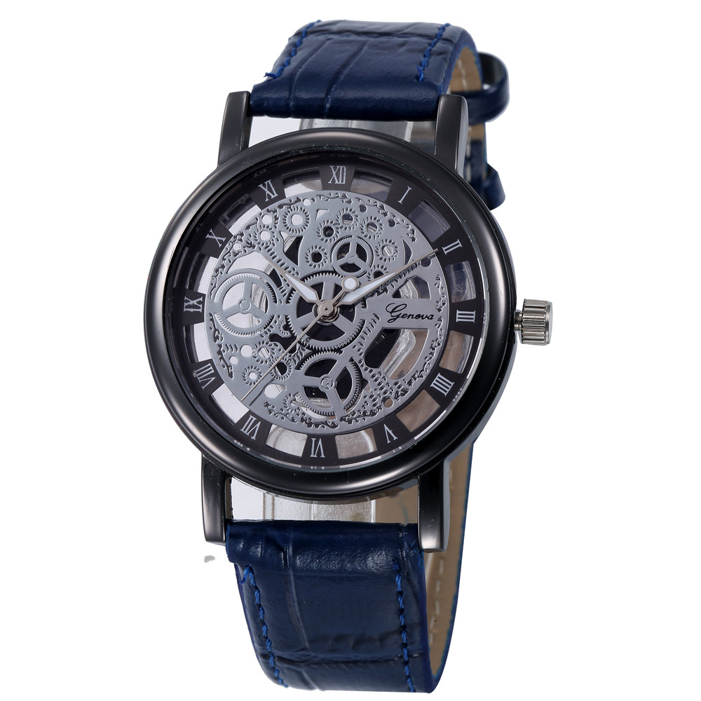 geneva luxury brand watches womens hollow out analog for sale