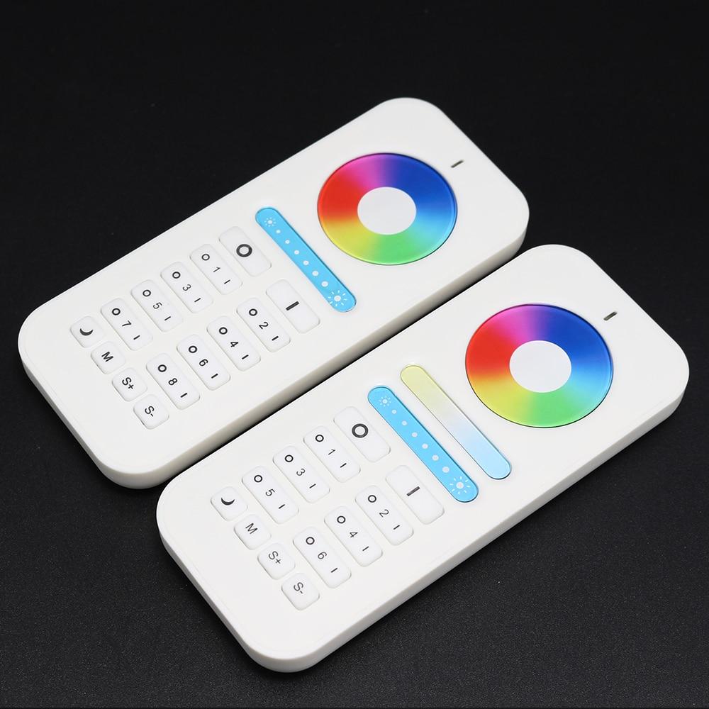GLEDOPTO HA CONDOTTO LA lampadina a distanza 2.4g RF LED remote controller 6/8 zone touch dimmer Senza Fili 2.4g RF CW/WW RGBW Telecomando led bu