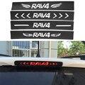 Углеродного Волокна Стикер Автомобиля Высокого Стоп-сигнал, Пригодный Для Toyota RAV4 13-16y Задний Фонарь Наклейки Стайлинга Автомобилей