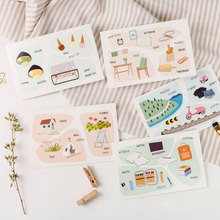 30 pcs/lot Outdoor travel Life little things postcard greeting card christmas & birthday message card gift cards(China)