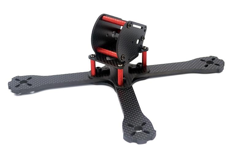 DIY FPV mini racing drone QAV-X4 GS 4 170mm quadcopter 3K pure carbon fiber frame 3/4mm main plate arms for 4040 4 blade pro tator rc 3k carbon fiber plate 3 5mm tl2900