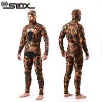 SLINX человек полный подводное плавание Мокрые одежды спорта людей Костюмы, неопрен Одежда заплыва, Сёрфинг гидрокостюм, купальник оборудова