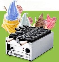 Купить получить 6 подарки! 110 В 220 В открыть рот Мороженое taiyaki машина рыбы Конус чайник