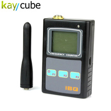 IBQ101 New Portable Handheld Frequency Counter Bugs RF Wireless Camera Scanner Detector  50MHz-2600MHz Radio Tester