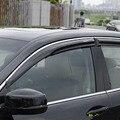 Для Honda 2008-2020 8th accord Mugen Style Window козырек Vent Gard 4 шт с хромовой линией
