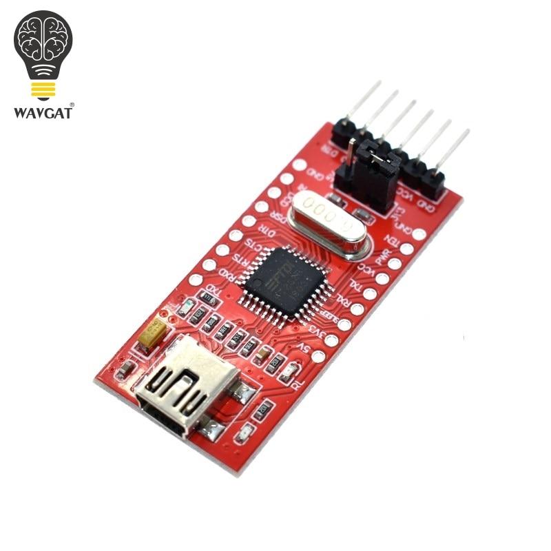 WAVGAT FT232 FT232BL FT232RL USB 2.0 To TTL Level Download Cable To Serial Board Adapter Module 5V 3.3V Debugger