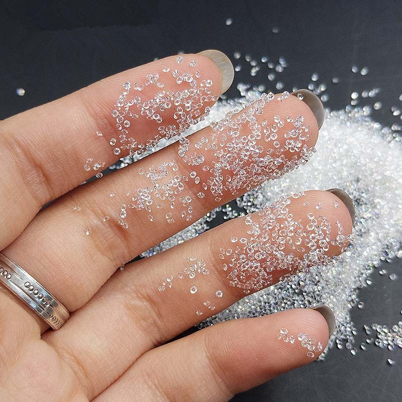 1440pcs 1.1mm Crystal Clear Glass Nail Art Rhinestones Micro Rhinestones Mini Nail Art Micro Pixie Manicure Decorations 1440pcs 1 1mm crystal clear glass nail art rhinestones micro rhinestones mini nail art micro pixie manicure decorations