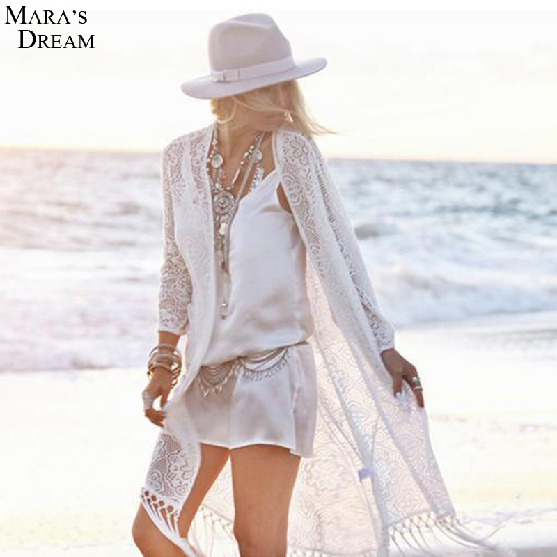 White Beach Dress Cover Up