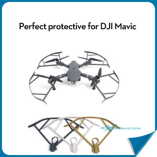 Mavic Pro Пропеллер Guide On Off Propeller Гвардии Опора Аварии протектор Для DJI Mavic Pro Белое Золото Серый Набор 4 шт.