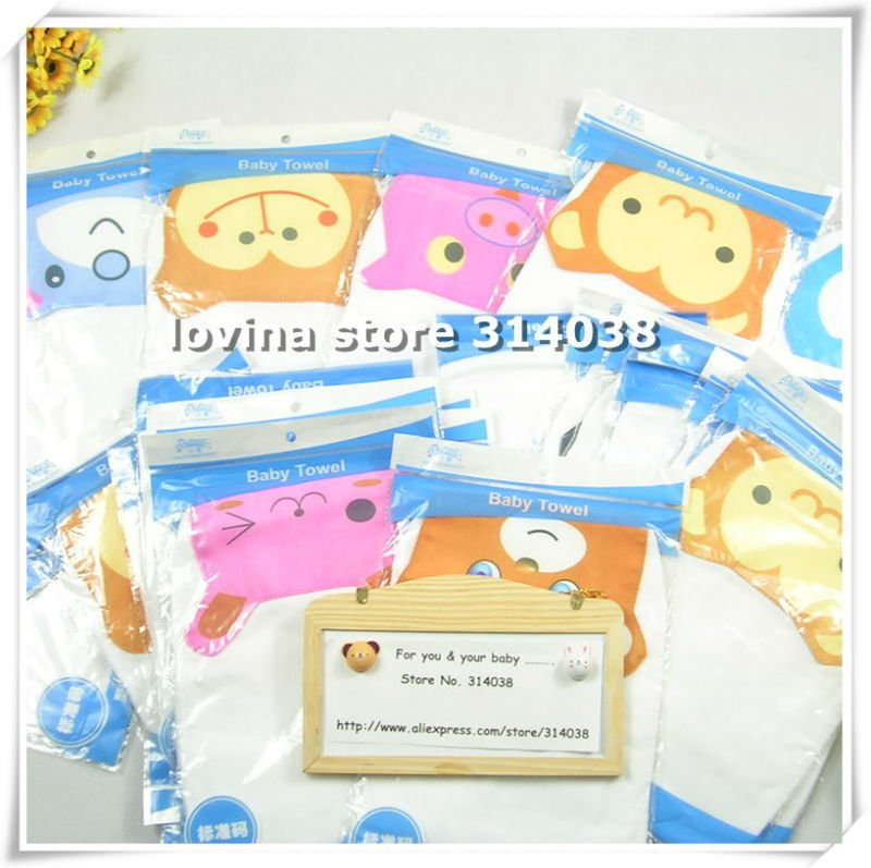 Best quality for baby towel 64 pics Purified baby towel baby \sweat towl children \Sweat towel