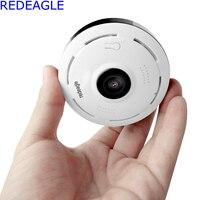 REDEAGLE 2MP HD FishEye IP Camera 1080P 360 Degree Full View Mini CCTV Network Home Security