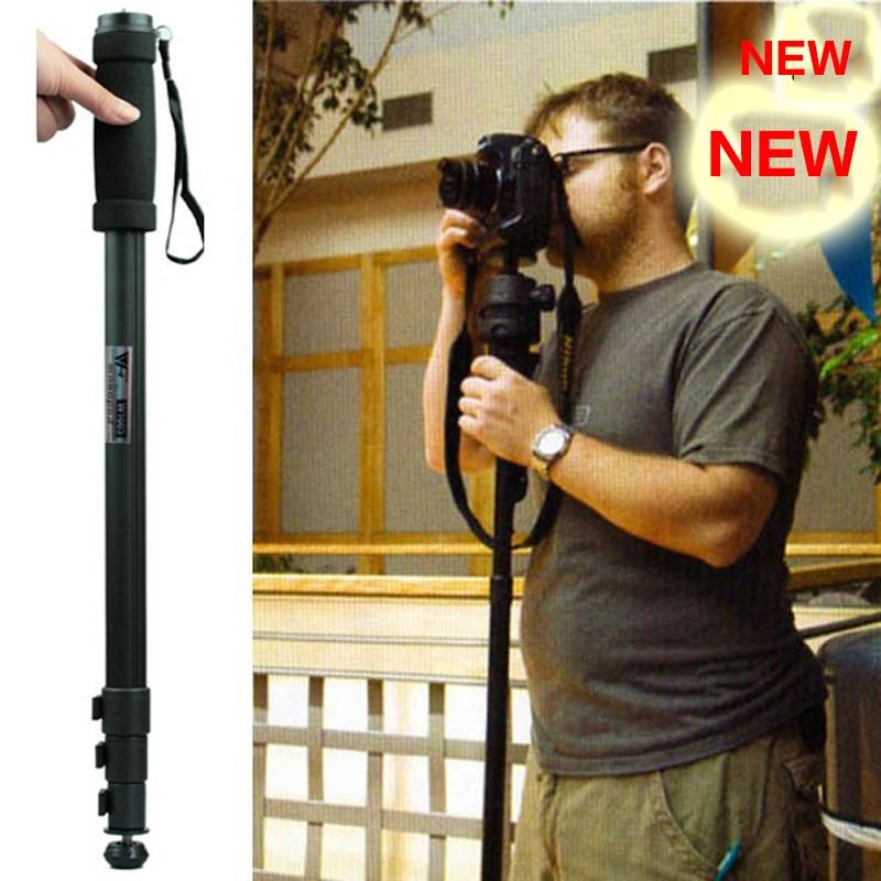 Newest WT1003 WT-1003 Professional Alloy Camera tripod Monopod Lightweight 67