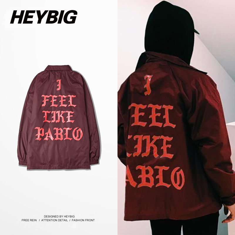 I Feel Like Pablo Season 3 Kanye West Clothing Heybig Light Trench Street Fashion Hip hop