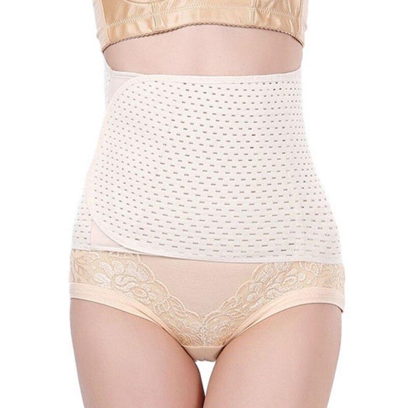 New Women Postpartum Waist Trainer Corset Abdomen Body Shapers Belt Non-slip Puerperal Butt-lifter Seamless Women Shapewear LM58