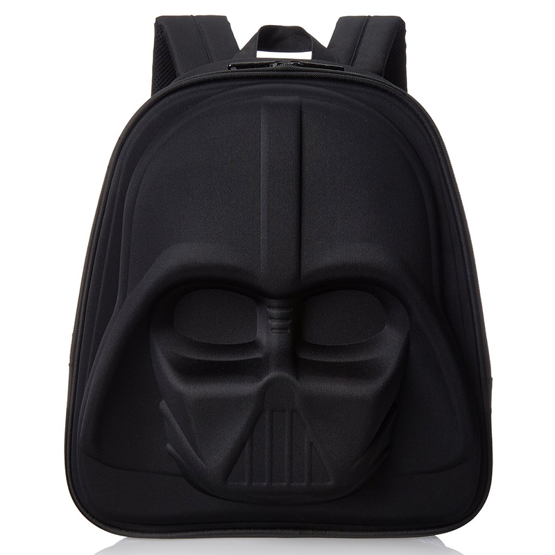 2017Star Wars Shoulder Bag 3D 3D Style Shoulder Bag Black Knight Backpack B..