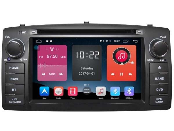Для Toyota Corolla E120 BYD F3 Android 6.0 Quad Core 2din dvd стерео GPS штатные 4 г GPS автомобильные магнитолы media