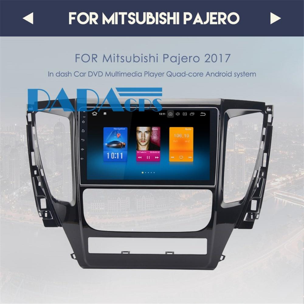 9 Newest Android 8 0 4GB RAM Car Radio GPS Navigation For MITSUBISHI PAJERO 2016 2017
