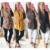 Serie KAYWIDE 2016 Mujeres Abrigo de Invierno Otoño Outwear Manera de Las Mujeres Abrigo de Lana Tejido de Mezcla de Chalecos Para Las Mujeres A16702