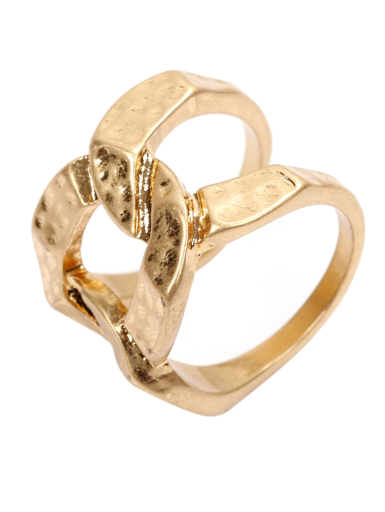 2019 Exaggerated Vintage Heavy Metal Irregular Distorted Cross Geometric Women Ring Hip Hop Finger Accessories Fashion Jewelry in Rings from Jewelry Accessories