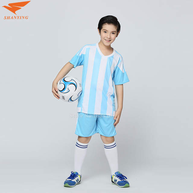 Survetement Soccer Jersey Kids Football Jersey Boys Custom Soccer Set Youth  Football Uniform Boys Voetbal Tenue 77f960ea1