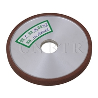 CNBTR 100x8mm Straight Flat Diamond Snagging Cutting Deburring Grinding Wheel Grit 180