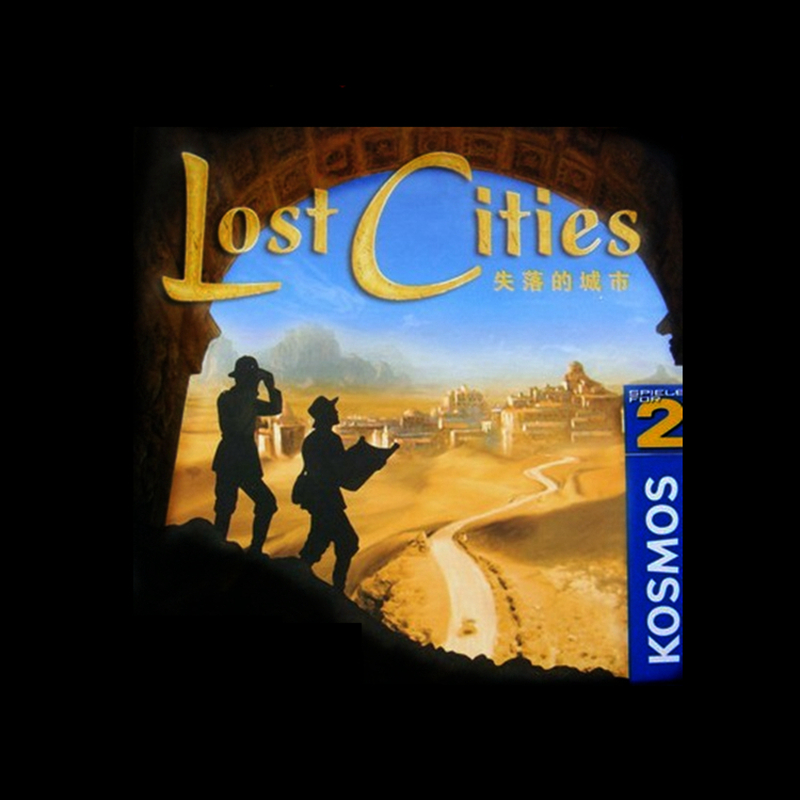 Lost Cities World Adventure Playing Card Game For 2 Player Board Game Friend Table Indoor Game Lost City