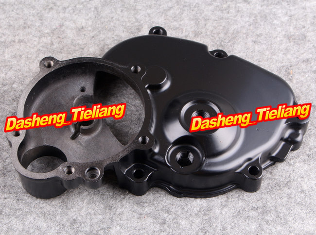Motorcycle Stator Engine Crank Case Cover for Kawasaki Z1000 2003 2004 2005 2006 / Z 1000 03 04 05 06 CNC Aluminum Black Color cnc motorcycle stator engine crank case