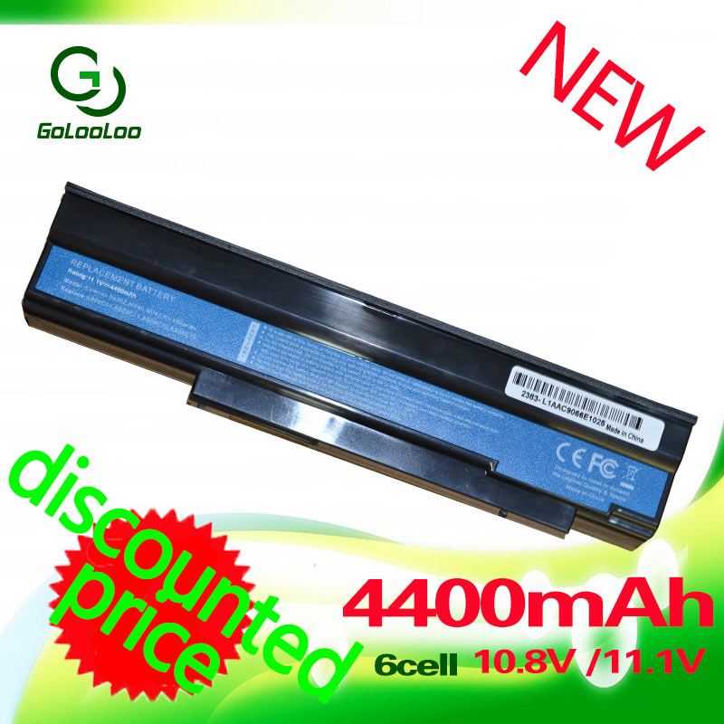 Golooloo 11.1v 4400MaH AS09C31 Battery for Acer AS09C71 <font><b>AS09C75</b></font> 5635 5235 5635ZG 5635G ZR6 5635Z for GateWay NV42 NV44 NV48 image