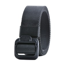 2018 New Arrival Sale Outdoor Army Tactical Belt Military Nylon Belts Mens Waist Swat Strap With Buckle Rappelling Three Color