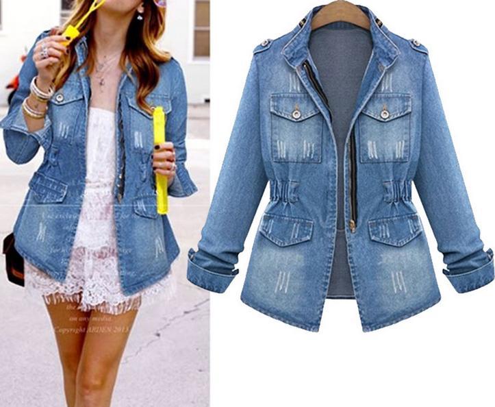 plus size jean jackets cheap - Jean Yu Beauty