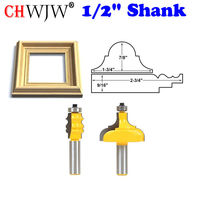 Picture Frame Router Bits Complete Set 1 2 Shank Chwjw 18322