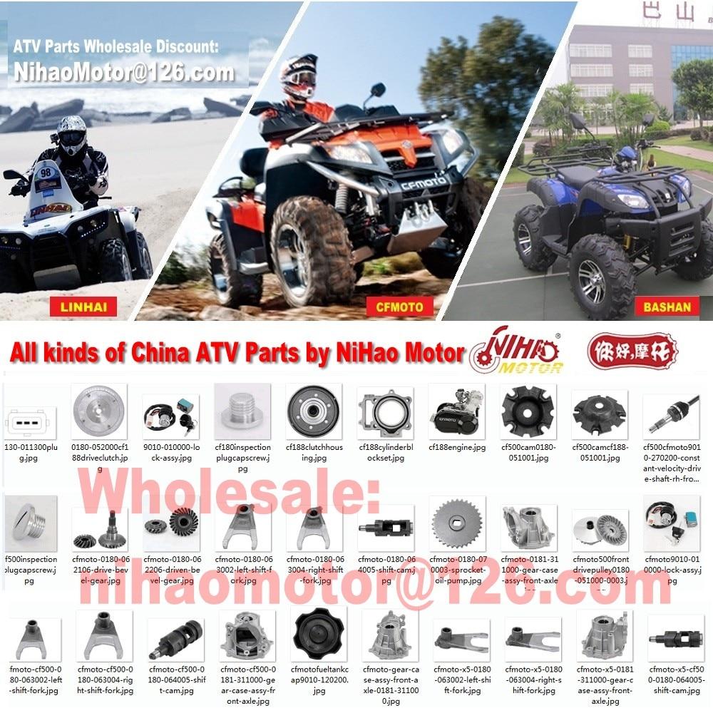 Cyleto Plaquettes de frein avant pour CF Moto CF 500/Rancher 500/2010/2011//tracker 800/CF800/2013