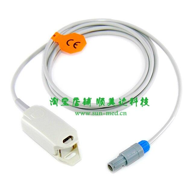 Mindray Spo2 sensors finger probe for MEC 1000 MEC 1200 VS 800 PM 7000 PM 8000 PM 9000 patient monitor