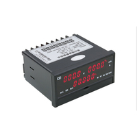 Single phase Intelligent Electric Parameter Tester Panel 500V20A DC Combo Voltage Current Time Amp Power Watt Capacity Meter