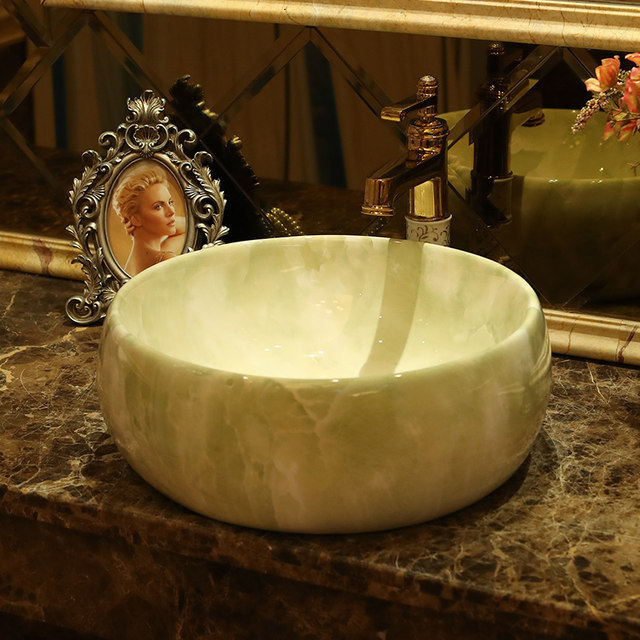 Online Shop Europe Vintage Style Handmade Ceramic washing basin ...