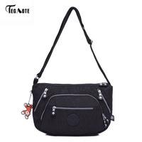 TEGAOTE Female Bag Beach Shoulder Bags Handbags Women Famous Brands Bolsa Feminina Purse Nylon Crossbody Bag