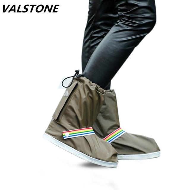 Водонепроницаемые непромокаемые туфли для многократного применения, утолщенная подошва, Нескользящие непромокаемые Бахилы для обуви, муж...
