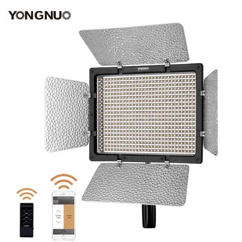 YONGNUO <font><b>YN600L</b></font> II YN600 II 600 Video LED Light Panel 2.4G Wireless Remote Control by Phone App for Interview Camera image